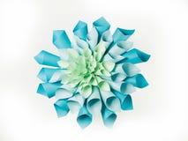 Origami paper shape Stock Image