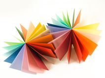 Origami paper shape Stock Photography