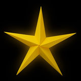 Origami paper star Royalty Free Stock Photo
