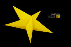Origami paper star Royalty Free Stock Photos