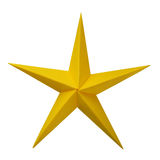 Origami paper star Royalty Free Stock Photography