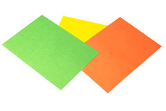 Origami papers Stock Photos