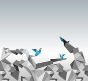 Origami papier Obrazy Royalty Free