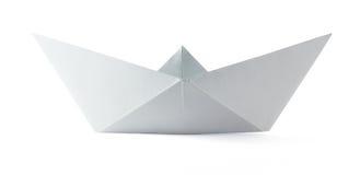 Origami papierowa łódź Zdjęcie Stock