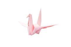 Origami papieru ptak Obrazy Royalty Free