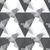 Origami papieru ptaki Zdjęcia Royalty Free