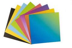 Origami papper arkivbild