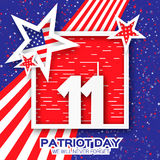 Origami Patriot Day. Royalty Free Stock Photos