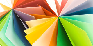 Origami pattern Royalty Free Stock Images