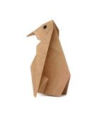 Origami penguin Stock Photos