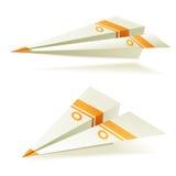 Origami planes Stock Photo