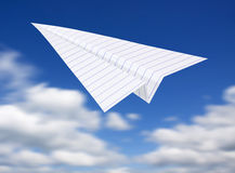 Origami planes Royalty Free Stock Images