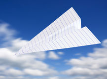 Origami planes Royalty Free Stock Photos