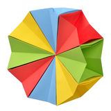 Origami polyhedron Royalty Free Stock Photography
