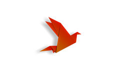 Origami ptak Fotografia Royalty Free
