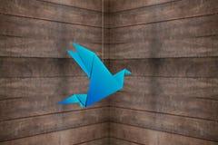 Origami ptak Zdjęcie Royalty Free
