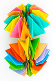 Origami pure model Royalty Free Stock Images