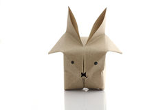 Origami rabbit Royalty Free Stock Photography
