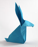 Origami rabbit Stock Image