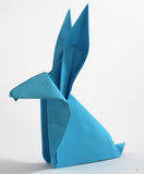 Origami rabbit Stock Photos