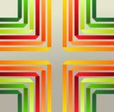 Origami ribbons pattern. Royalty Free Stock Photos
