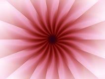 Origami rosado plegable el modelo Imagen de archivo libre de regalías