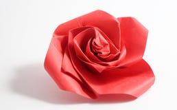 Origami rose Stock Photo