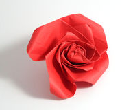 Origami rose Royalty Free Stock Photos