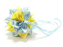 Origami Royal Rose Royalty Free Stock Image