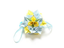 Origami Royal Rose Royalty Free Stock Photos