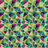 Origami seamless abstrakt bakgrund Arkivfoto