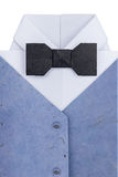 Origami shirt with bow tie Stock Photo
