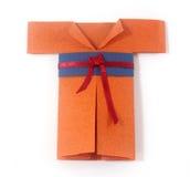 Origami shirt Royalty Free Stock Photography