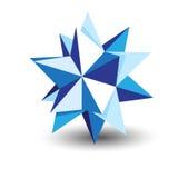 Origami star Stock Photos