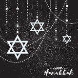 Origami Star of David. Happy Hanukkah. Royalty Free Stock Images