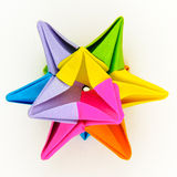 Origami star Royalty Free Stock Photos