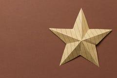 Origami star Stock Image