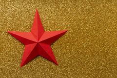 Origami star Stock Photography