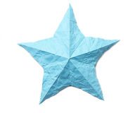 Origami star Stock Photos