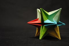 Origami Stern Lizenzfreies Stockbild