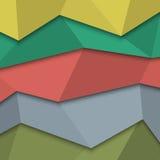 Origami style - creative design template. Vector EPS10 Stock Photos