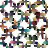 Origami style seamless pattern. Royalty Free Stock Photos