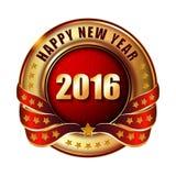 2016 Origami Szczęśliwego nowego roku Origami Wesoło boże narodzenia Balowi Zdjęcia Stock