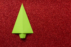 Origami tree Stock Photo