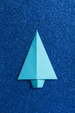 Origami tree Stock Images