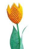 Origami Tulip Flower Fotografia Stock