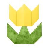 Origami tulipanu papier Fotografia Royalty Free