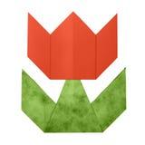 Origami tulipanu papier Zdjęcie Stock
