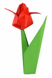 Origami Tulpe lizenzfreie stockfotos