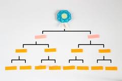 Origami turnieju mapy Zdjęcie Stock